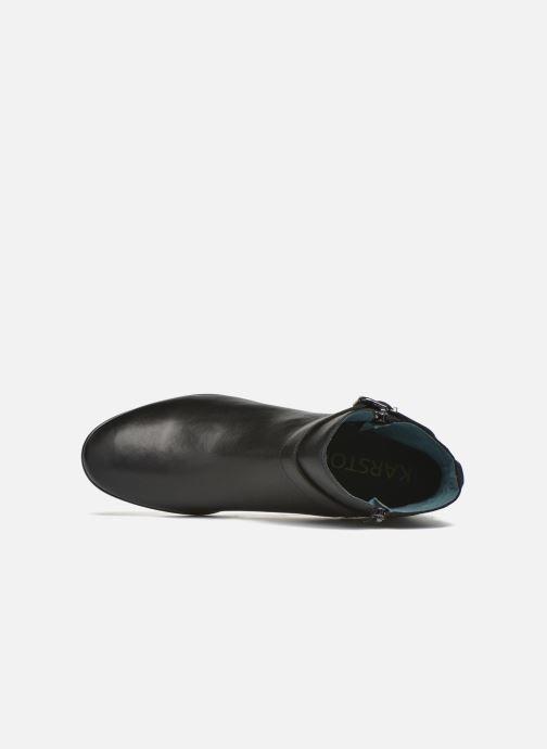 Bottines et boots Karston JOYAU Vo NOIR/Mat.BRONZE ~Doubl & 1ere CUIR Noir vue gauche