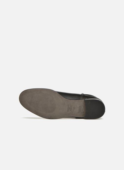 Bottines et boots Karston JOYAU Vo NOIR/Mat.BRONZE ~Doubl & 1ere CUIR Noir vue haut