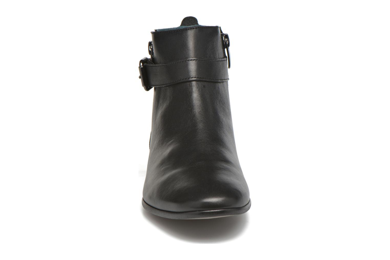 Bottines et boots Karston JOYAU Vo NOIR/Mat.BRONZE ~Doubl & 1ere CUIR Noir vue portées chaussures