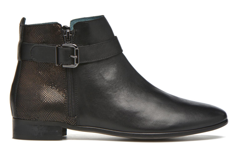 Bottines et boots Karston JOYAU Vo NOIR/Mat.BRONZE ~Doubl & 1ere CUIR Noir vue derrière