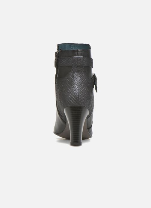 Ankle boots Karston IFOPO #Vo Mil.NOIR/Ch Max ~Doubl & 1ere CUIR Black view from the right