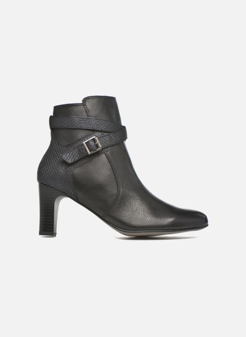 Ankle boots Karston IFOPO #Vo Mil.NOIR/Ch Max ~Doubl & 1ere CUIR Black back view
