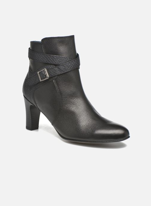 Karston Ifopo #vo Mil.noir/ch Max ~doubl & 1ere Cuir (negro) - Botines Chez
