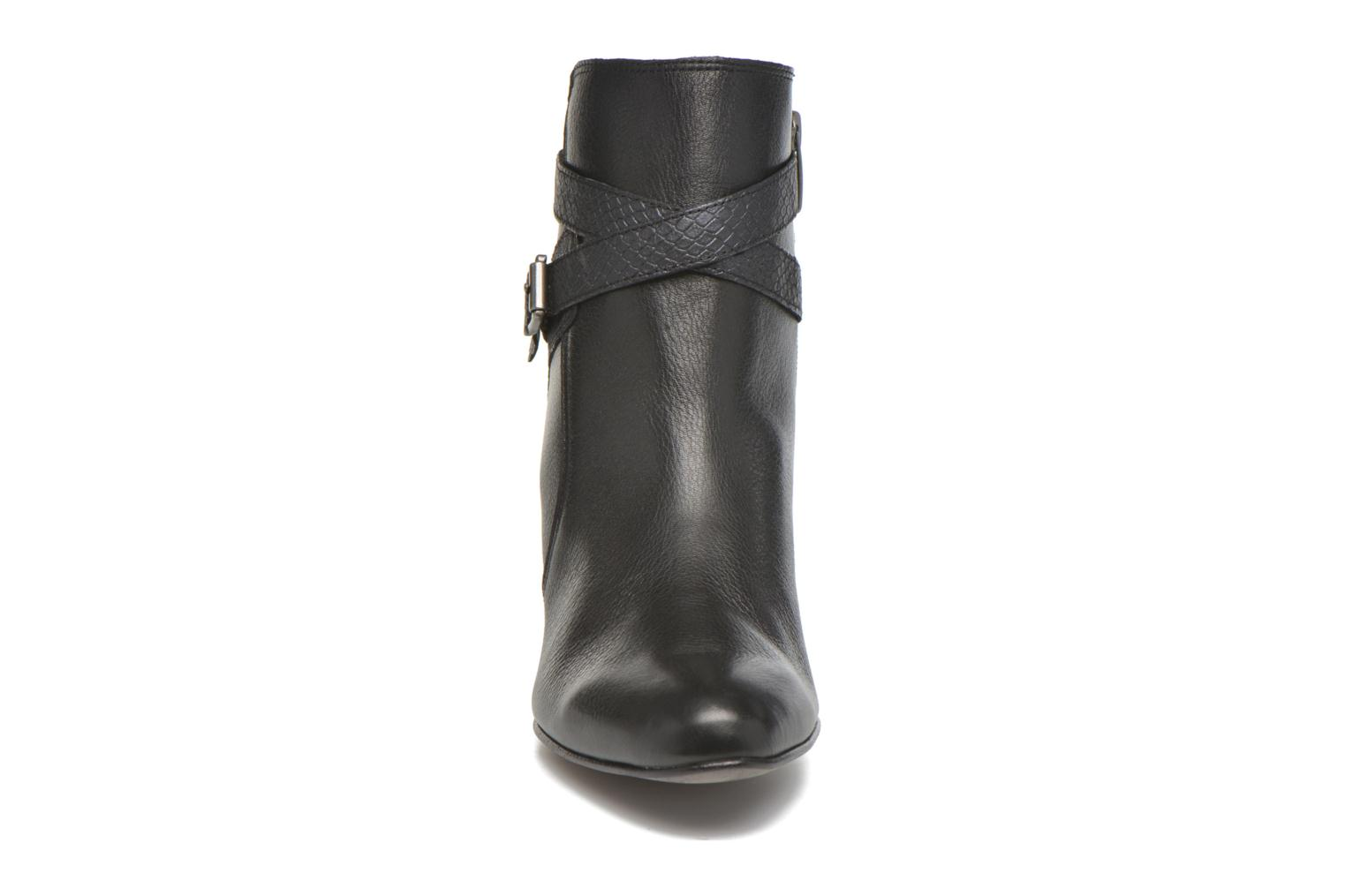 Ankle boots Karston IFOPO #Vo Mil.NOIR/Ch Max ~Doubl & 1ere CUIR Black model view