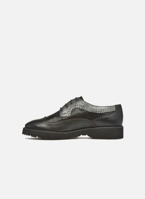 Zapatos con cordones Karston OLAGO *Mult Vo Milled NOIR ~Doubl & 1ere CUIR Negro vista de frente