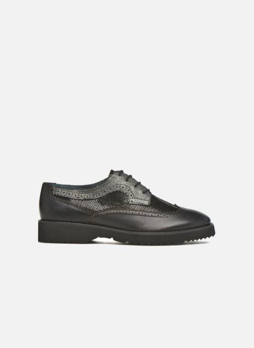 Chaussures à lacets Karston OLAGO *Mult Vo Milled NOIR ~Doubl & 1ere CUIR Noir vue derrière