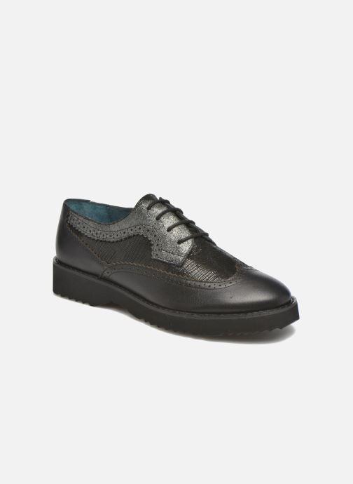 Zapatos con cordones Karston OLAGO *Mult Vo Milled NOIR ~Doubl & 1ere CUIR Negro vista de detalle / par