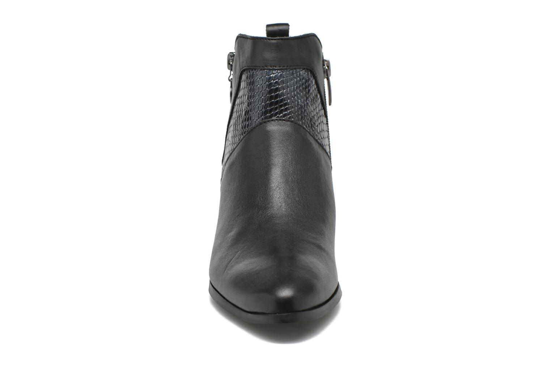 Bottines et boots Karston HECHIX #Mult Vo Milled NOIR ~Doubl & 1ere CUIR Noir vue portées chaussures