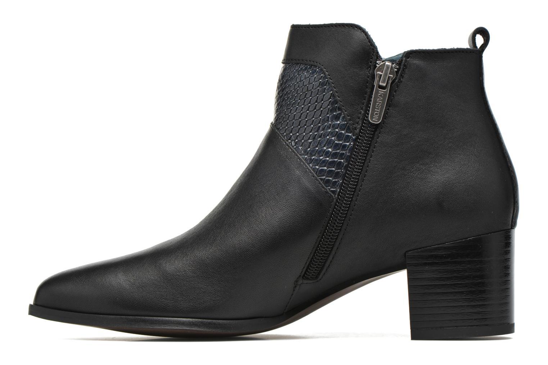 Bottines et boots Karston HECHIX #Mult Vo Milled NOIR ~Doubl & 1ere CUIR Noir vue face
