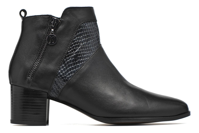 Bottines et boots Karston HECHIX #Mult Vo Milled NOIR ~Doubl & 1ere CUIR Noir vue derrière