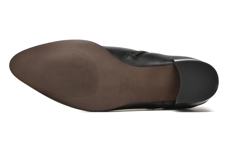 Bottines et boots Karston HECHIX #Mult Vo Milled NOIR ~Doubl & 1ere CUIR Noir vue haut