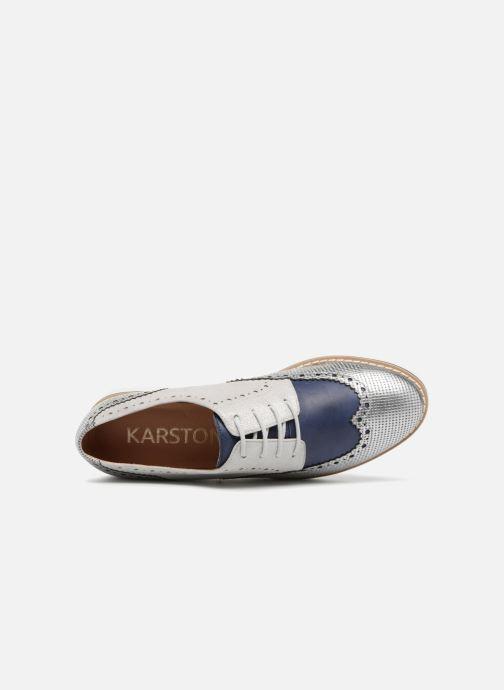 Chaussures à lacets Karston Olago Bleu vue gauche
