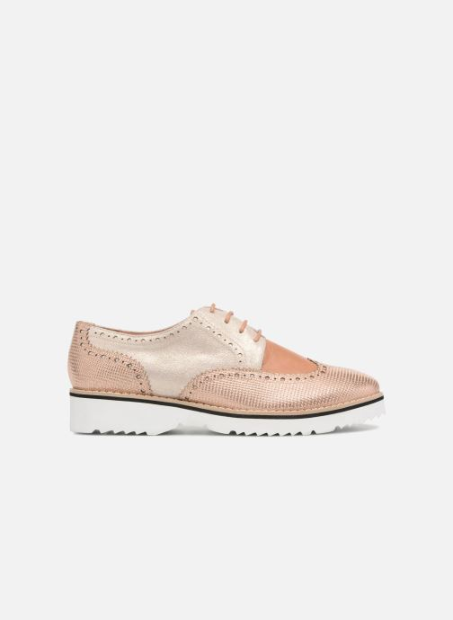 Zapatos con cordones Karston Olago Oro y bronce vistra trasera