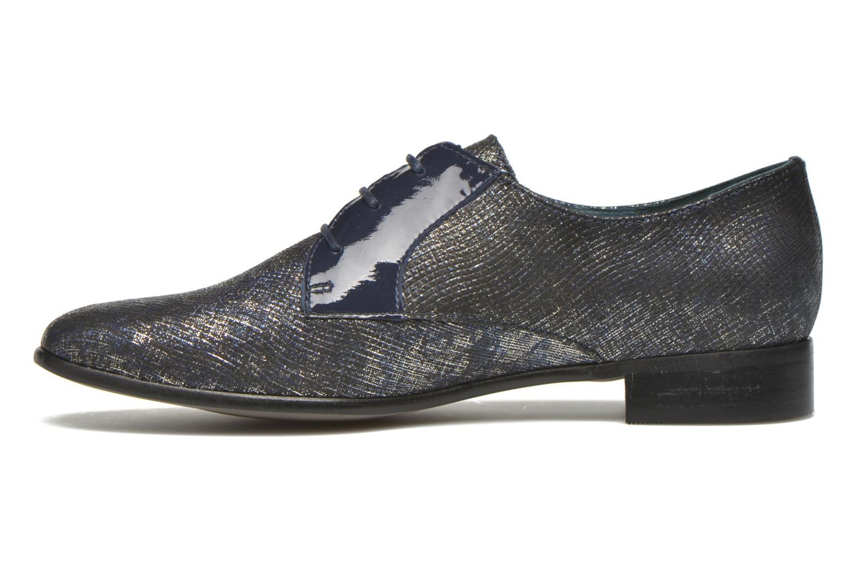 Zapatos con cordones Karston Jocra Azul vista de frente