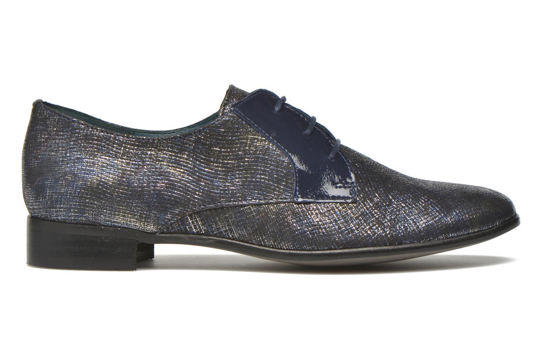 Zapatos con cordones Karston Jocra Azul vistra trasera