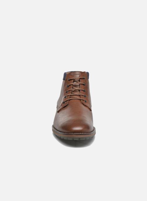 Bottines et boots Kost Buletier27 Marron vue portées chaussures