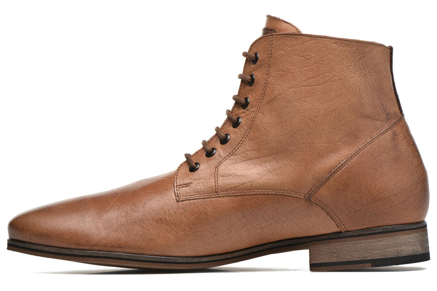 Ankle boots Kost Zkirvani51 Brown front view