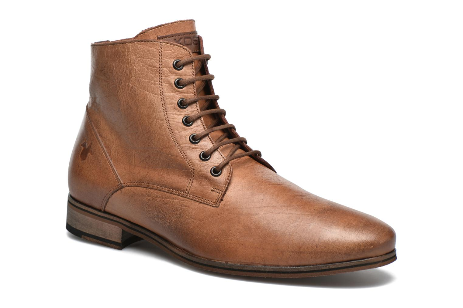 Ankle boots Kost Zkirvani51 Brown detailed view/ Pair view