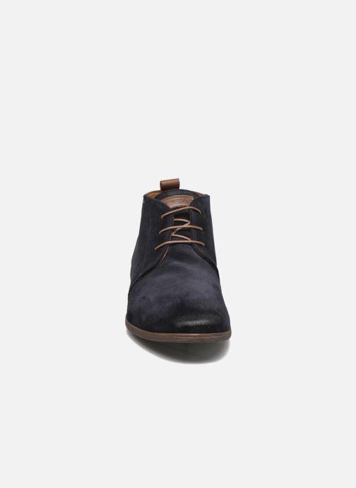 Chaussures à lacets Kost Zepi76 Bleu vue portées chaussures