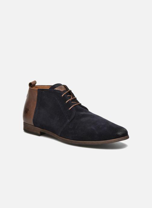 Chaussures à lacets Kost Zepi76 Bleu vue détail/paire