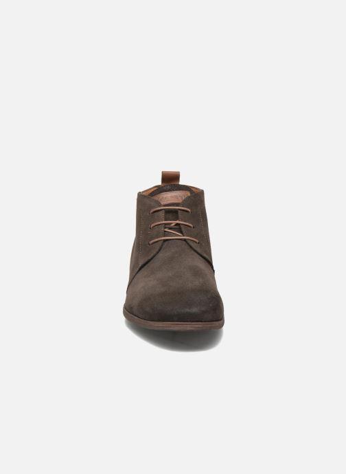 Chaussures à lacets Kost Zepi76 Marron vue portées chaussures