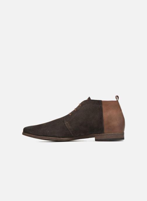 Chaussures à lacets Kost Zepi76 Marron vue face