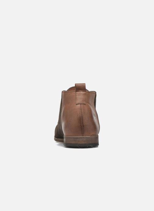 Chaussures à lacets Kost Zepi76 Marron vue droite