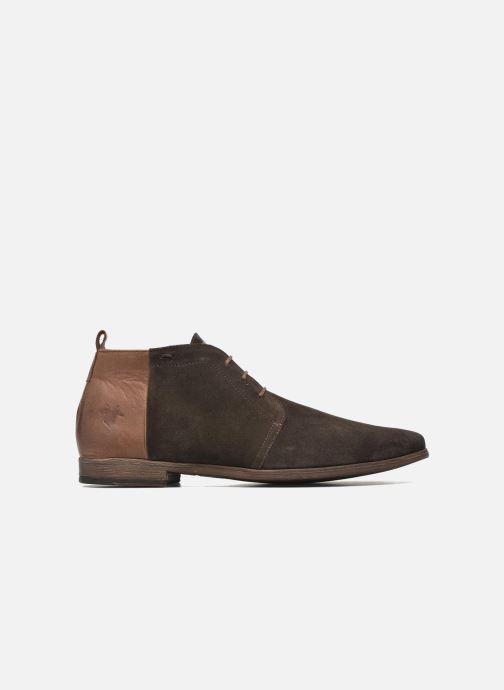 Chaussures à lacets Kost Zepi76 Marron vue derrière