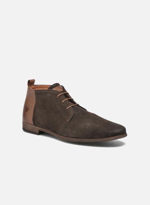 Chaussures à lacets Kost Zepi76 Marron vue détail/paire