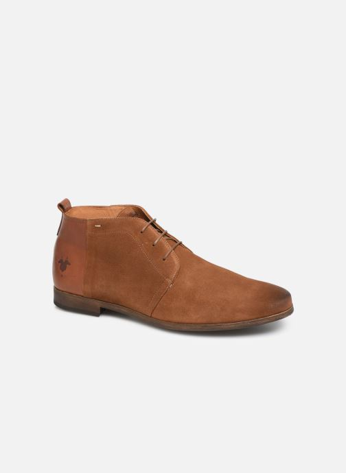 Lace-up shoes Kost Zepi76 Brown detailed view/ Pair view