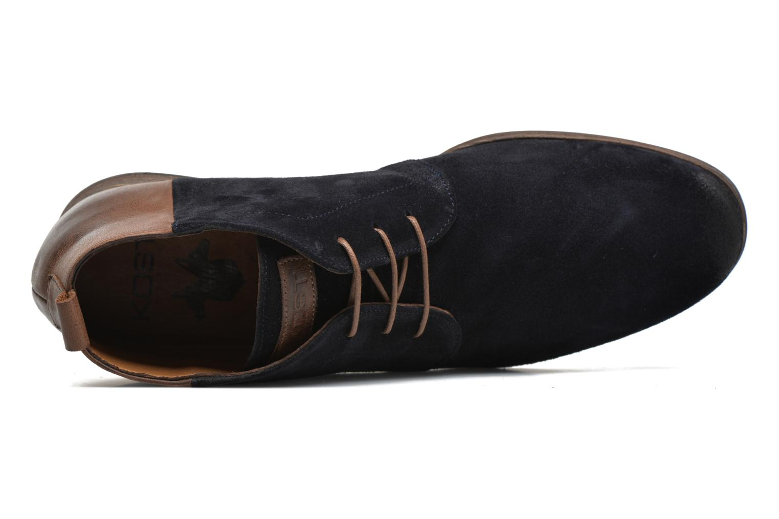 Lace-up shoes Kost Zepi76 Blue view from the left