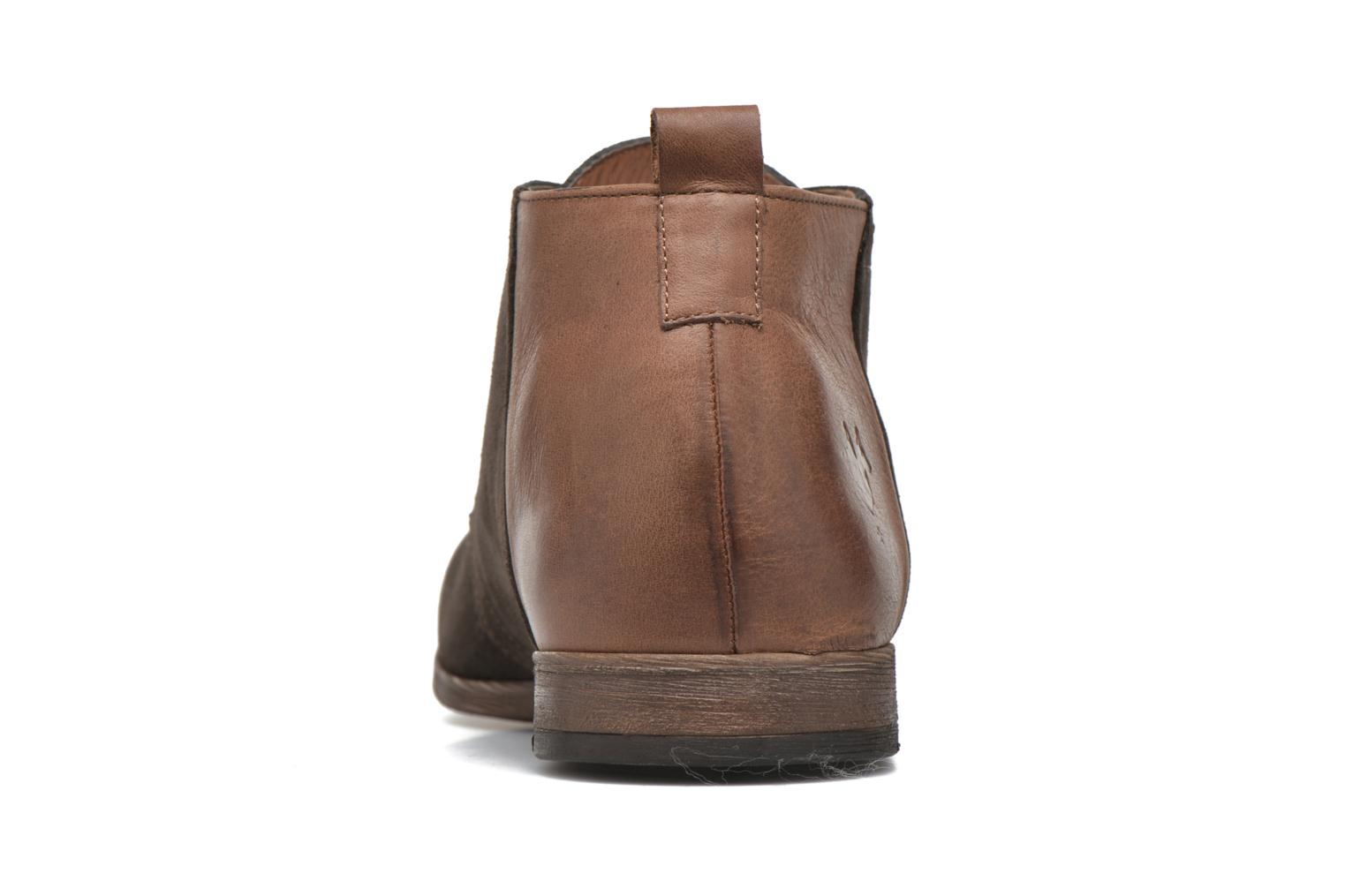 Lace-up shoes Kost Zepi76 Brown view from the right