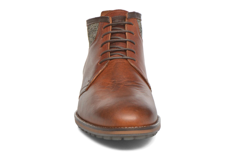 Chaussures à lacets Kost Renon25 Marron vue portées chaussures