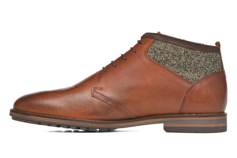 Zapatos con cordones Kost Renon25 Marrón vista de frente