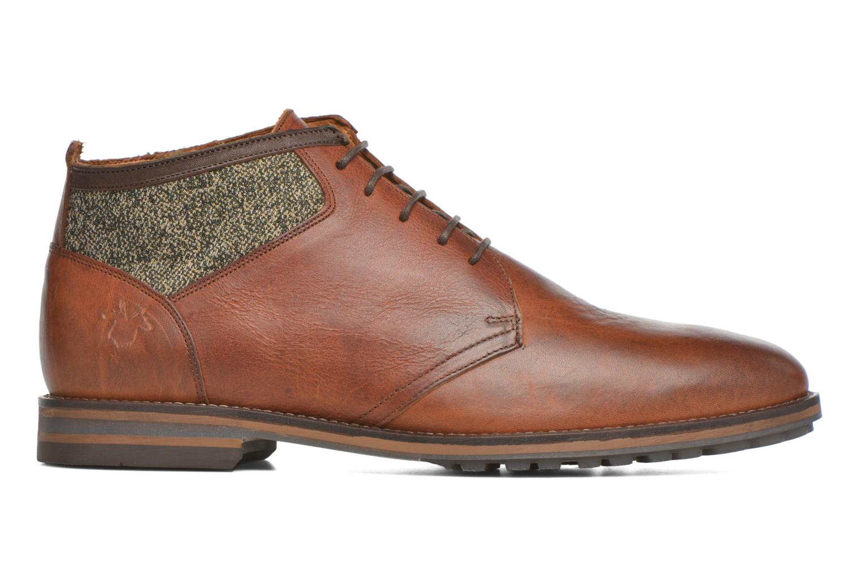 Chaussures à lacets Kost Renon25 Marron vue derrière