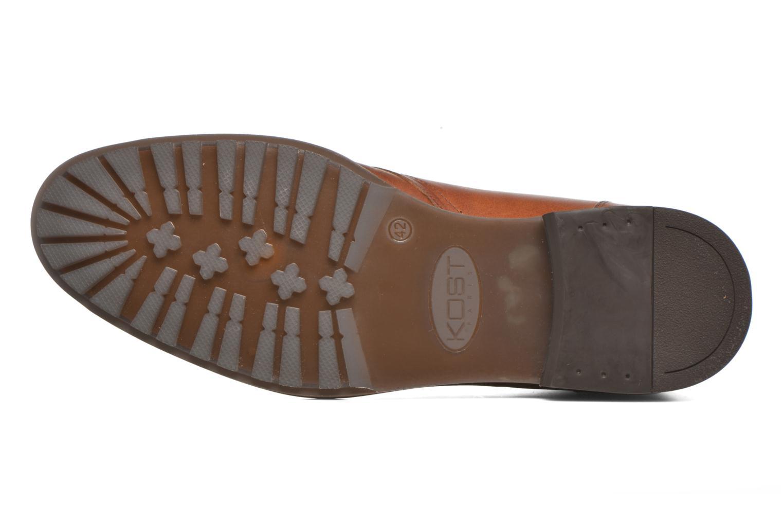 Chaussures à lacets Kost Renon25 Marron vue haut