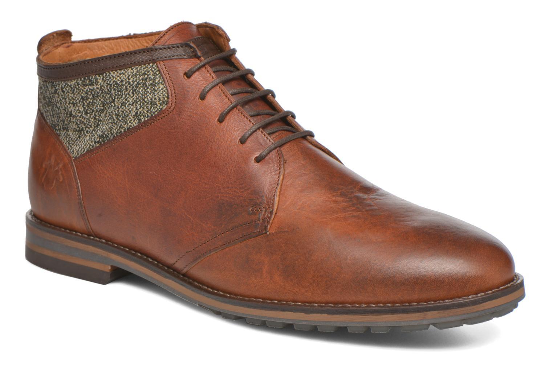 Chaussures à lacets Kost Renon25 Marron vue détail/paire