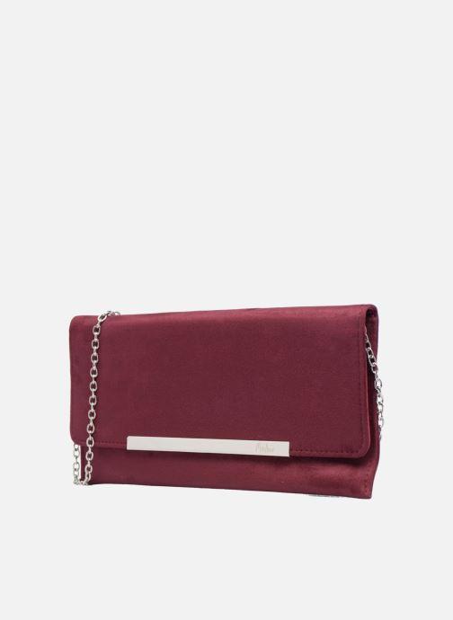 Handtaschen Menbur Pochette suédée S rot schuhe getragen