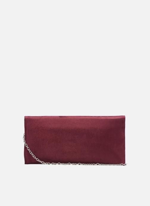 Handtaschen Menbur Pochette suédée S rot ansicht von vorne
