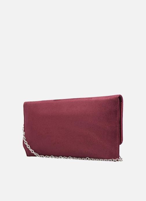 Handtaschen Menbur Pochette suédée S rot ansicht von rechts