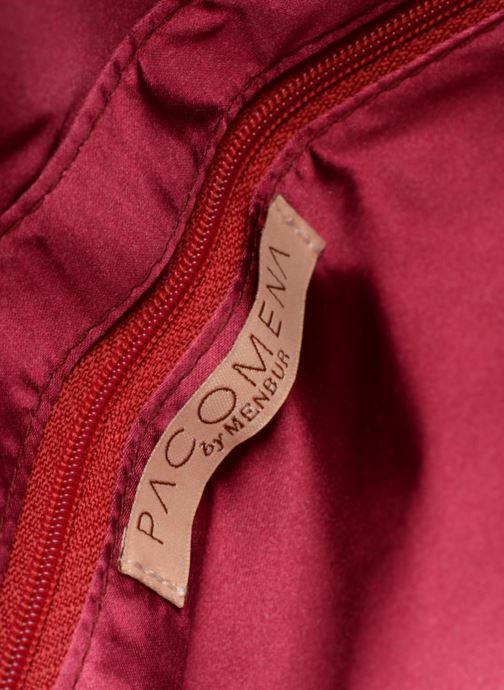 Handtaschen Menbur Pochette suédée S rot ansicht von hinten