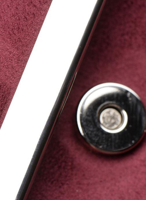 Handtaschen Menbur Pochette suédée S rot ansicht von links