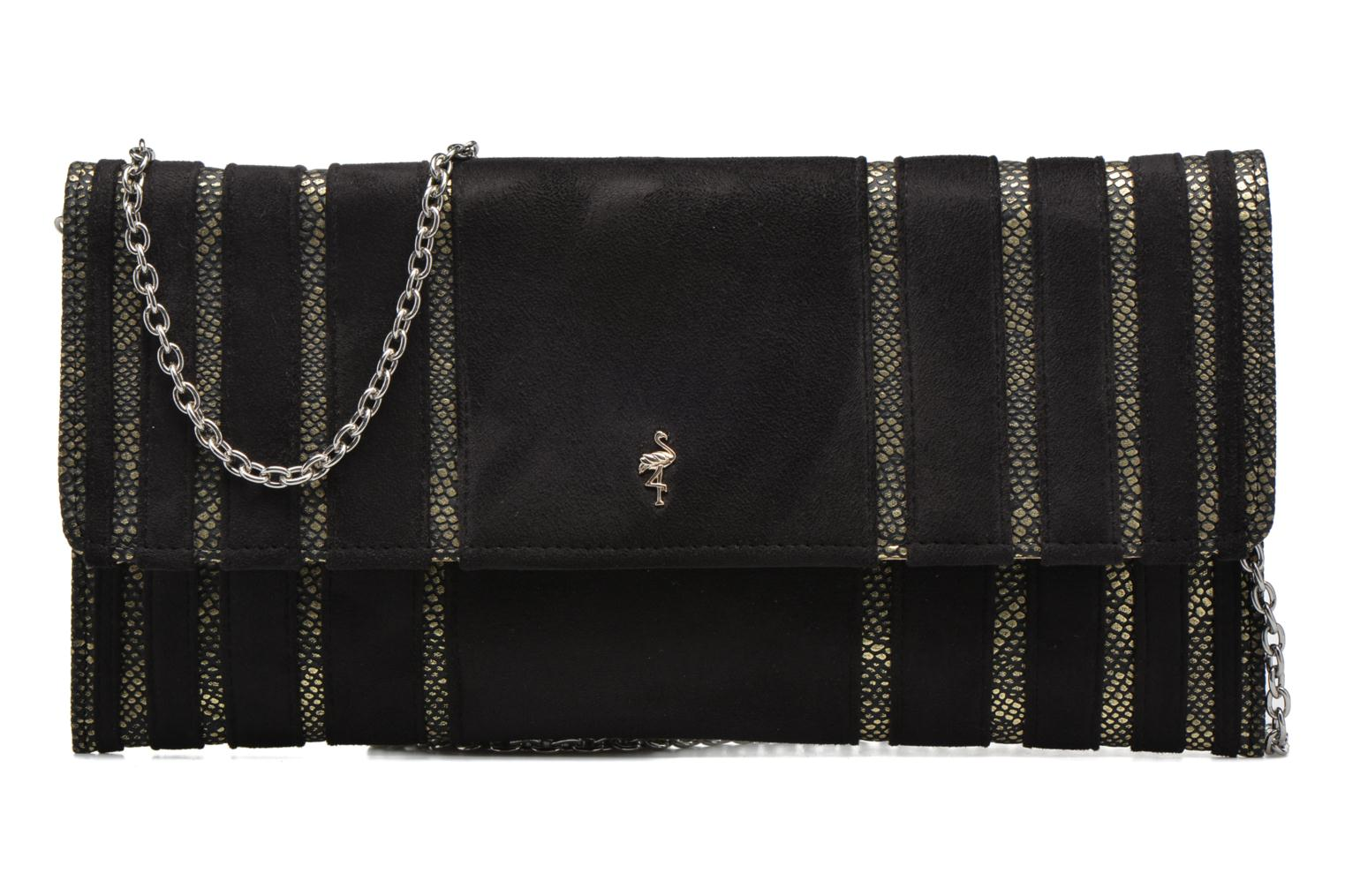 gold Menbur Pochette Black and S suédée PSqTXZ
