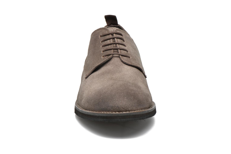 Chaussures à lacets Pepe jeans Hackney Rustic Marron vue portées chaussures