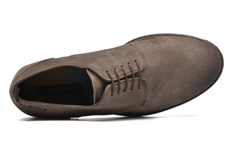 Chaussures à lacets Pepe jeans Hackney Rustic Marron vue gauche