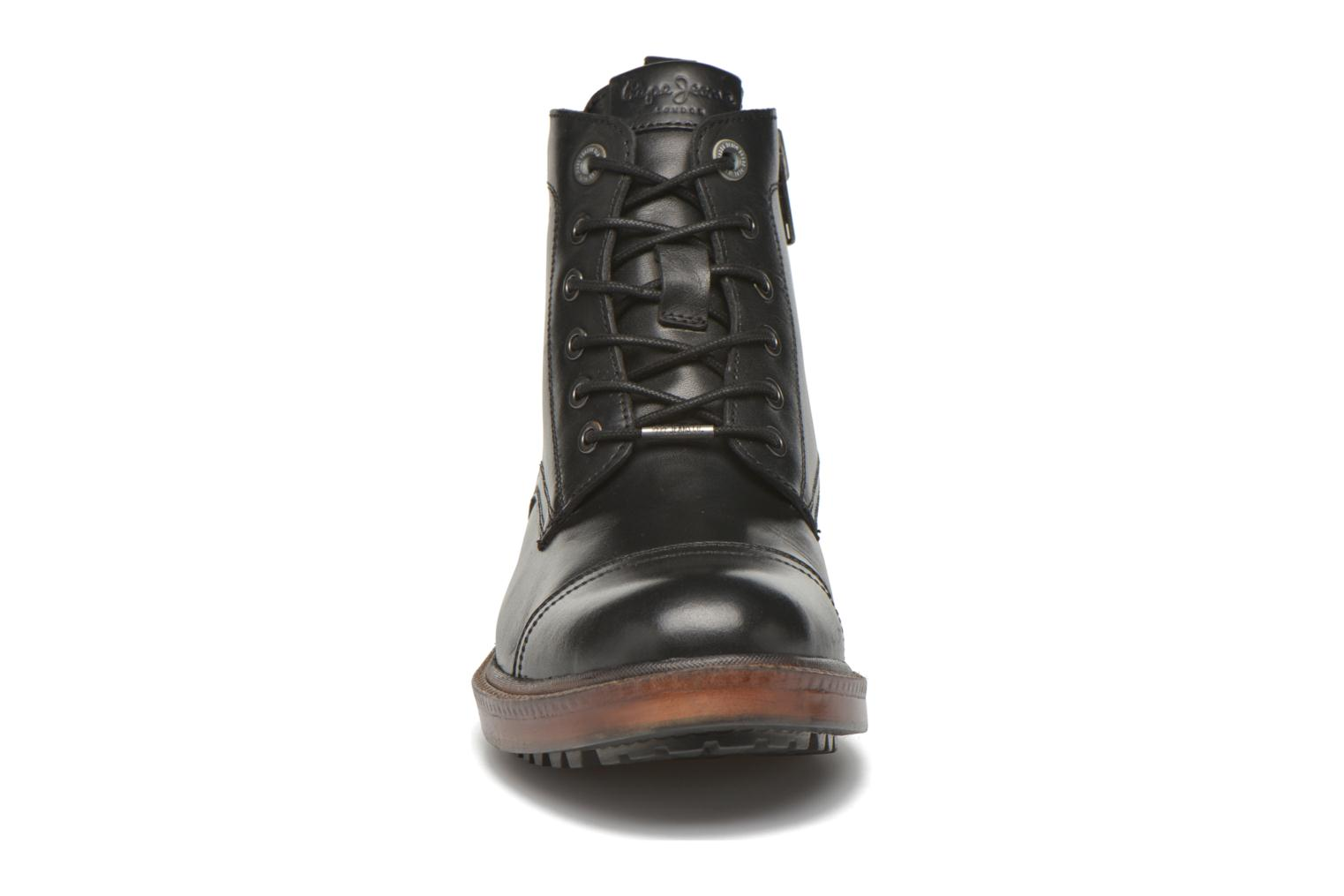 Ankle boots Pepe jeans Vivek Boot Black model view