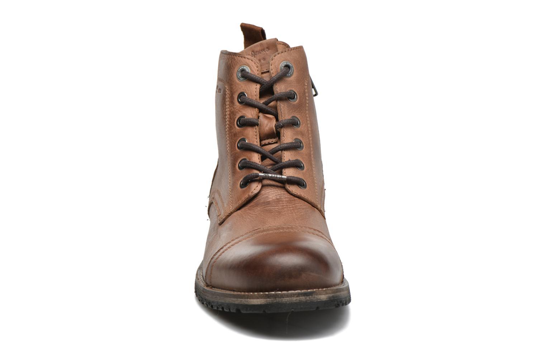 Bottines et boots Pepe jeans Melting Med Marron vue portées chaussures