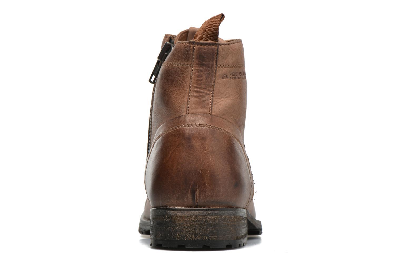 Bottines et boots Pepe jeans Melting Med Marron vue droite