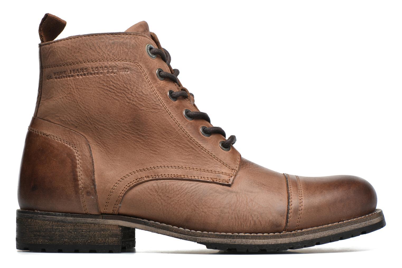 Bottines et boots Pepe jeans Melting Med Marron vue derrière