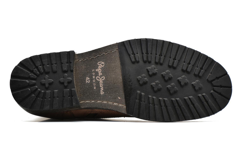 Bottines et boots Pepe jeans Melting Med Marron vue haut